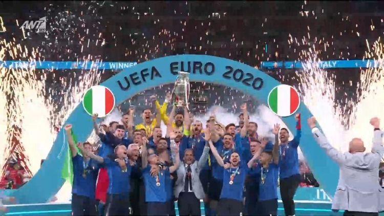 Euro 2020, Ιταλία – Αγγλία 3 2 πεν (1 1 καν.διάρκ, παρατ)