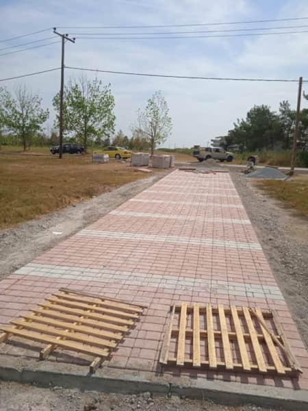 Ανάπλαση πεζοδρομίων στην Κατερίνη & στις κοινότητες