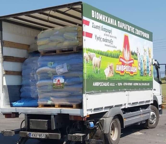 6.400 κιλά για τους πληγέντες κτηνοτρόφους της Εύβοιας
