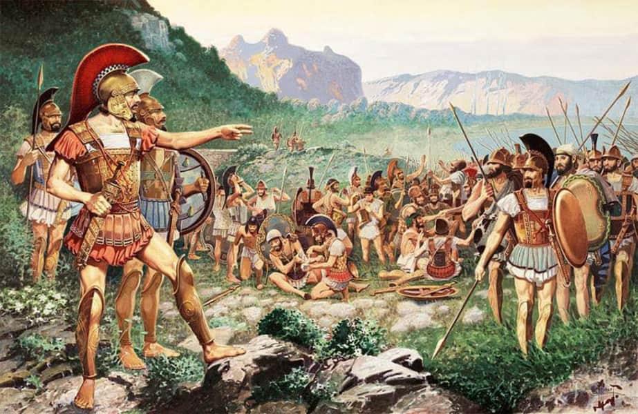 Η Μάχη των Θερμοπύλων 480 π.χ.