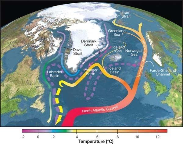 Η κλιματική αλλαγή απειλεί ωκεάνιο ρεύμα
