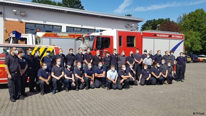Οι Γερμανοί πυροσβέστες στην Ελλάδα με την καρδιά τους
