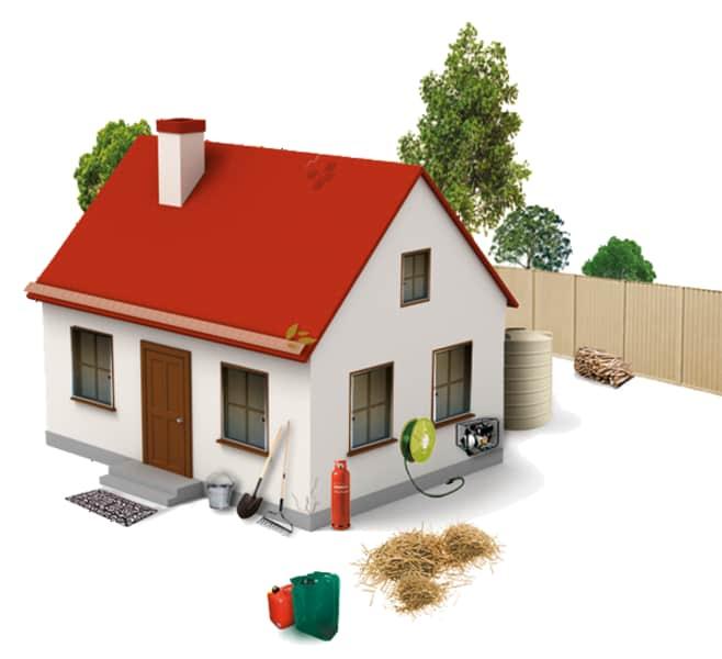 Πυρκαγιές και η Προστασία Κτιρίων και Σπιτιών