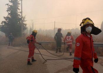 Συγκέντρωση τροφίμων και χρημάτων για τα θύματα της πυρκαγιάς