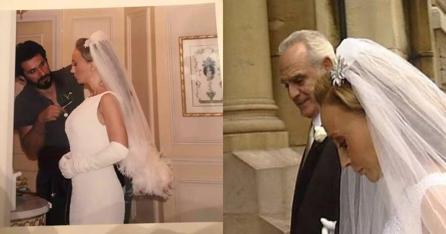 Άκης Τσοχατζόπουλος – Βίκυ Σταμάτη: O μυθικός γάμος στο Παρίσι που θα μείνει στην ιστορία για τις… υπερβολές του
