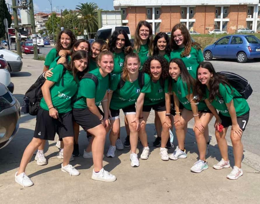 Αναχώρησε για Θεσσαλονίκη η αποστολή των νεανίδων