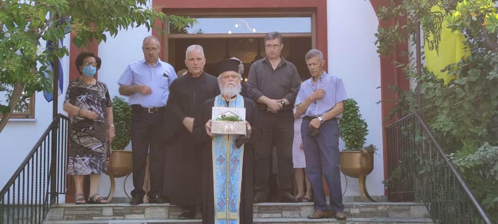 Αναχώρησε το ιερό λείψανο του Αγίου Διονυσίου εν Ολύμπω από το Βελβεντό για το Μοναστήρι του στον Όλυμπο