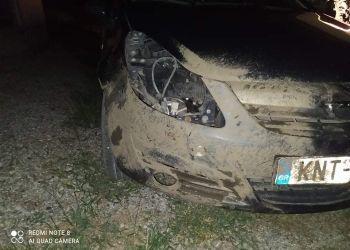 Ατύχημα με κοπάδι αγριογούρουνων