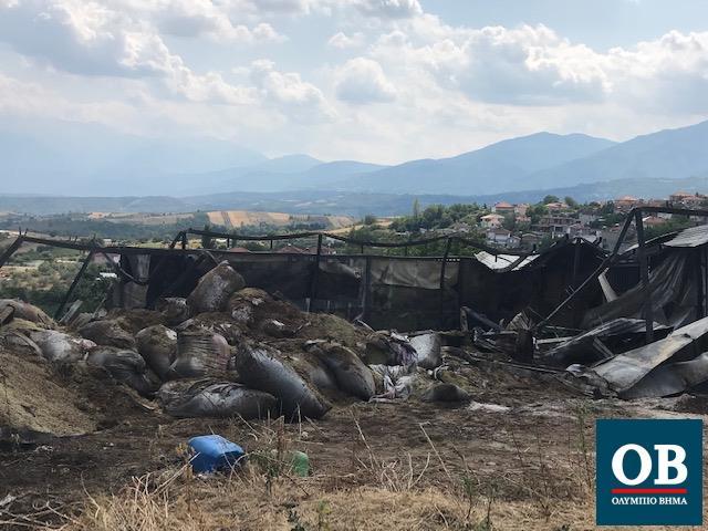 Φωτιά ξέσπασε τα ξημερώματα σε αποθήκη στο Μοσχοπόταμο