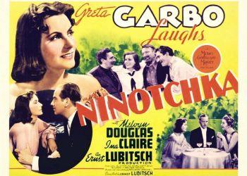 Η «Νινότσκα» του Έρνστ Λιούμπιτς, προβάλλεται την Πέμπτη 19/8, στις 9.30 μ.μ. στο θέατρο Πάρκου