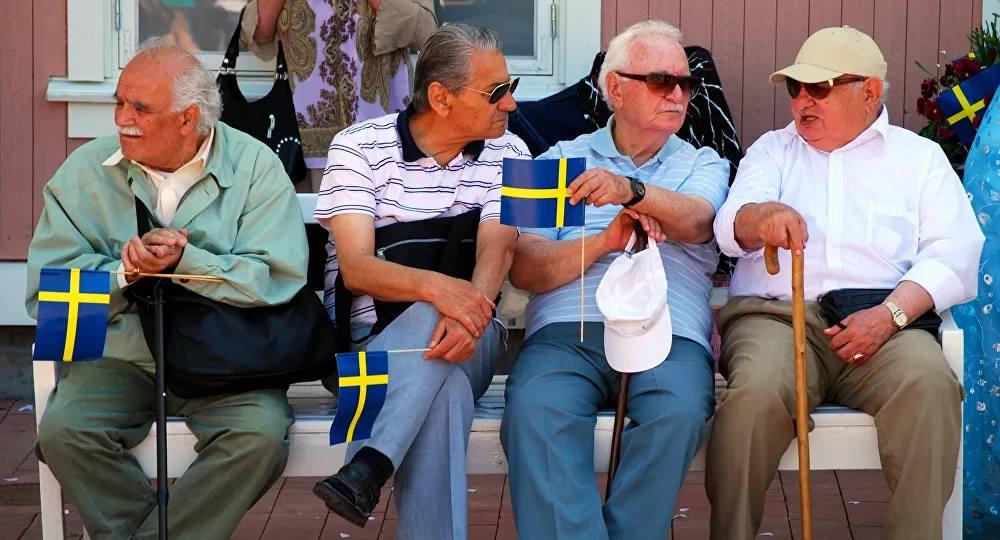 Οι συνταξιούχοι στη Σουηδία