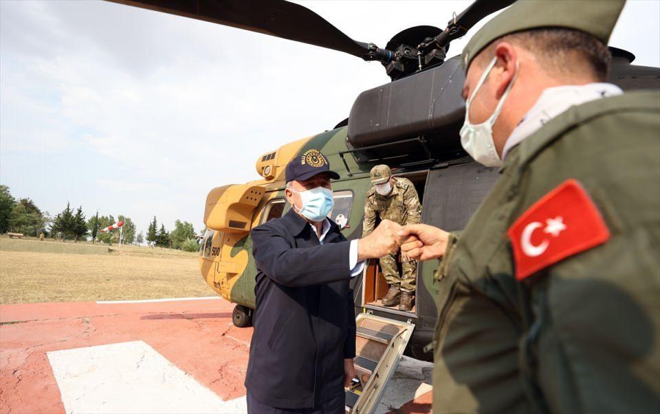 Στα ελληνοτουρκικά σύνορα ο Ακάρ