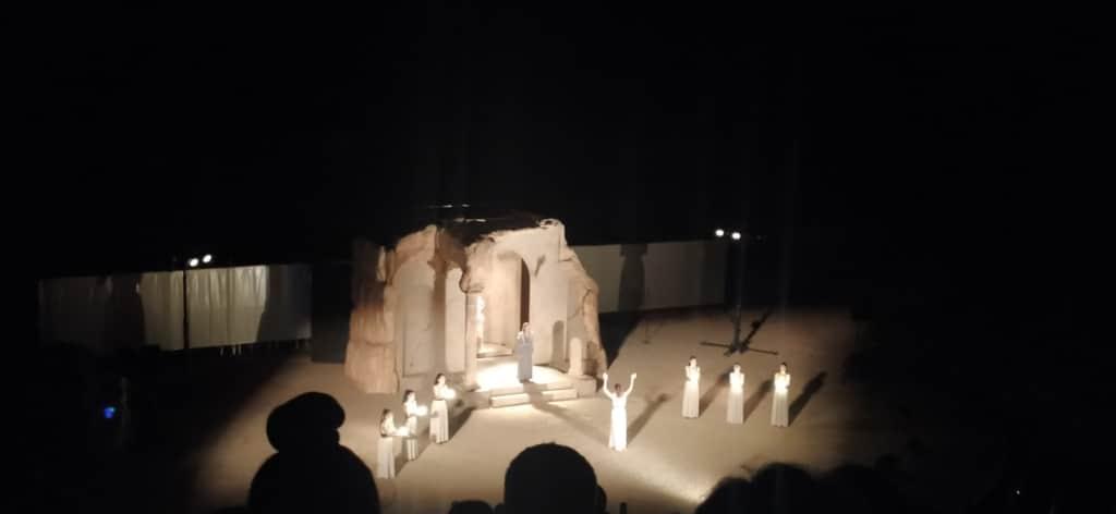 Συγκίνησε το κοινό της Πιερίας η Ιφιγένεια εν Ταύροις