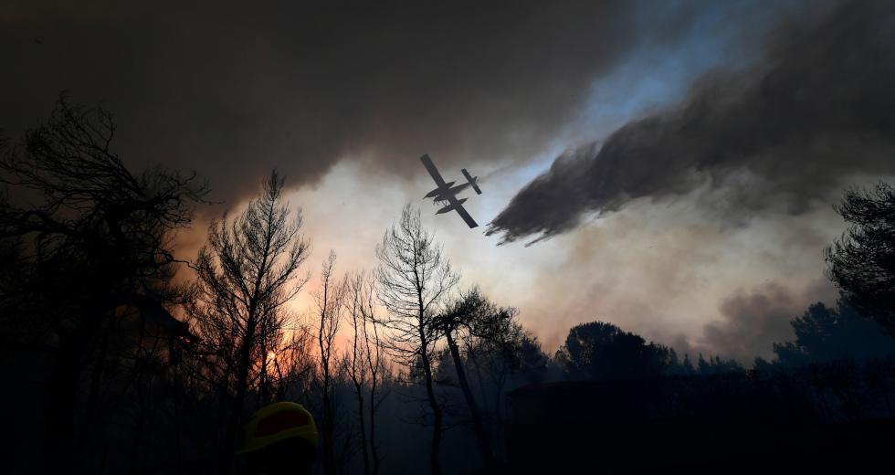 Φωτιά: Σε κατάσταση συναγερμού 6 περιφέρειες της χώρας – Ακραίος κίνδυνος πυρκαγιάς
