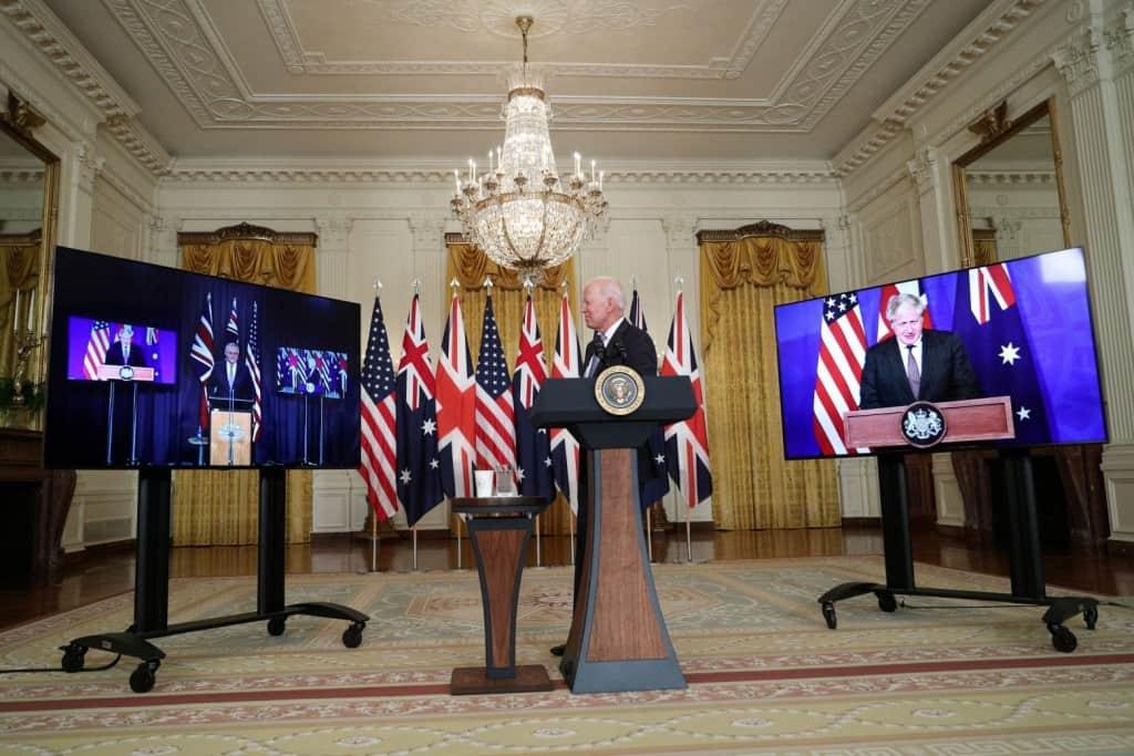 Aukus – Η συμμαχία ΗΠΑ, Βρετανίας, Αυστραλίας που αλλάζει τις ισορροπίες – Οργή σε Κίνα και Γαλλία