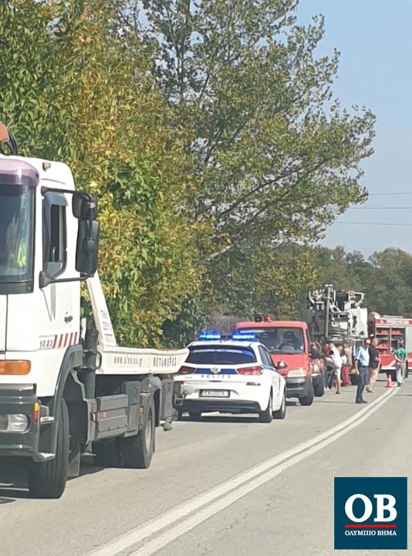 Ανατροπή ιδιωτικού αυτοκινήτου σημειώθηκε στο δρόμο προς Λαγόραχη