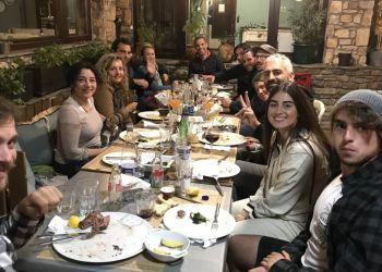 Αποχαιρετιστήρια βραδιά για τους εθελοντές στον Όλυμπο