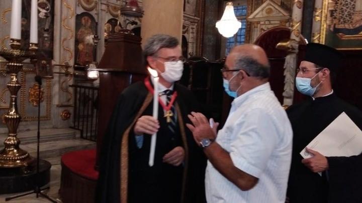 Άρχοντας Οφφικιάλιος χειροθετήθηκε ο καθηγητής Σωτήρης Τσιόδρας από τον Οικουμενικό Πατριάρχη Βαρθολομαίο