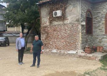Δήμος Κατερίνης: Διάνοιξη & καθαρισμός τμήματος πεζοδρόμου δίπλα από την Αστική Σχολή