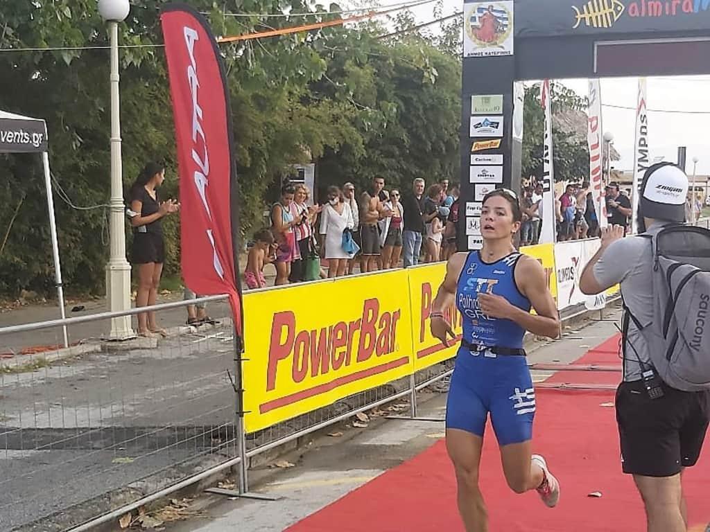 Δυναμική έναρξη των διεθνών αγώνων τριάθλου στην Παραλία Κατερίνης