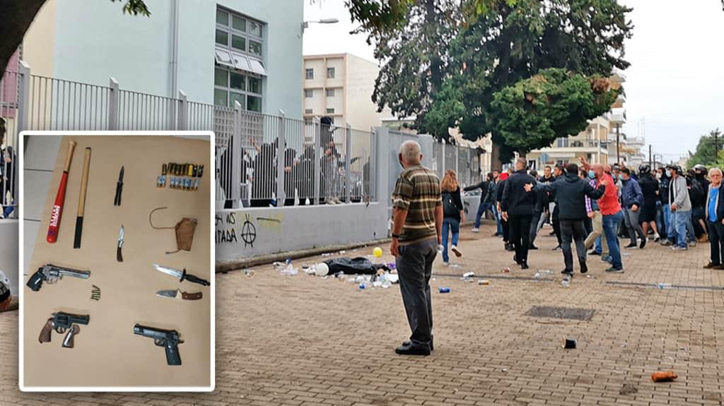 ΕΠΑΛ Σταυρούπολης: Κάνουν μάθημα και βλέπουν αυτές τις εικόνες από τα παράθυρα