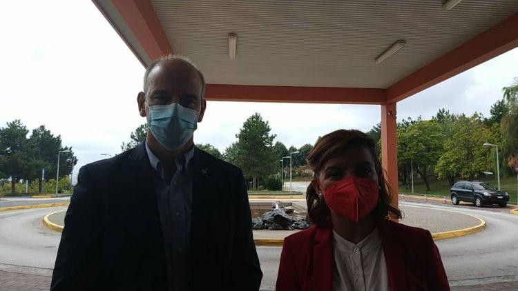 Επίσκεψη στο νοσοκομείο Πτολεμαΐδας των βουλευτών της ΝΔ Φώντα Μπαραλιάκου και Μαρίας Κεφαλά