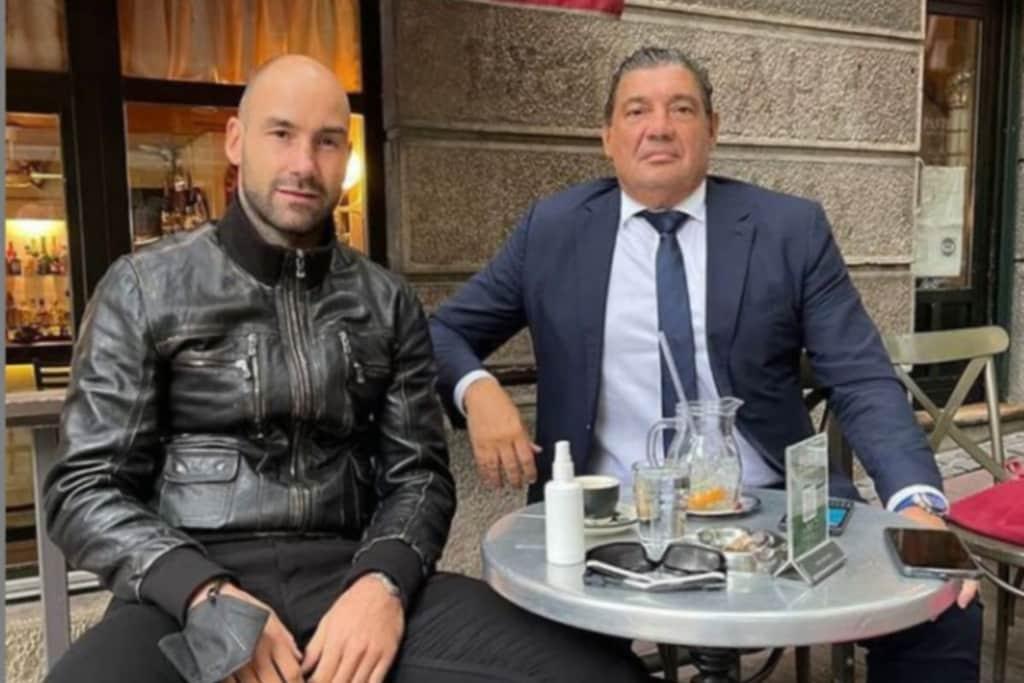 """Η ανάρτηση του Ραζνάτοβιτς με τον Σπανούλη: """"Είμαστε δύο φίλοι που στηρίζουμε ο ένας τον άλλον σε μία μεγάλη απώλεια"""""""