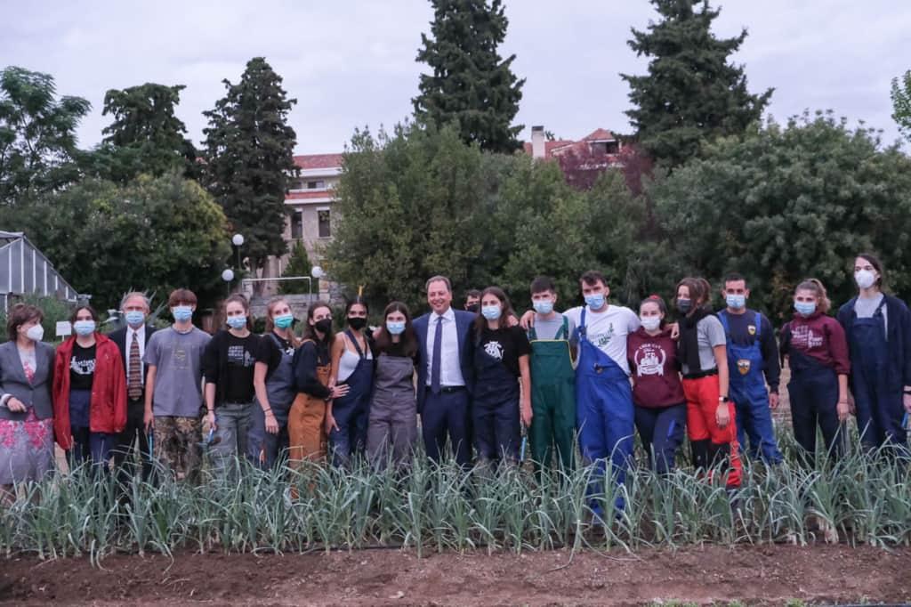 Υπόδειγμα για την αγροτική εκπαίδευση η Αμερικανική Γεωργική Σχολή Θεσσαλονίκης