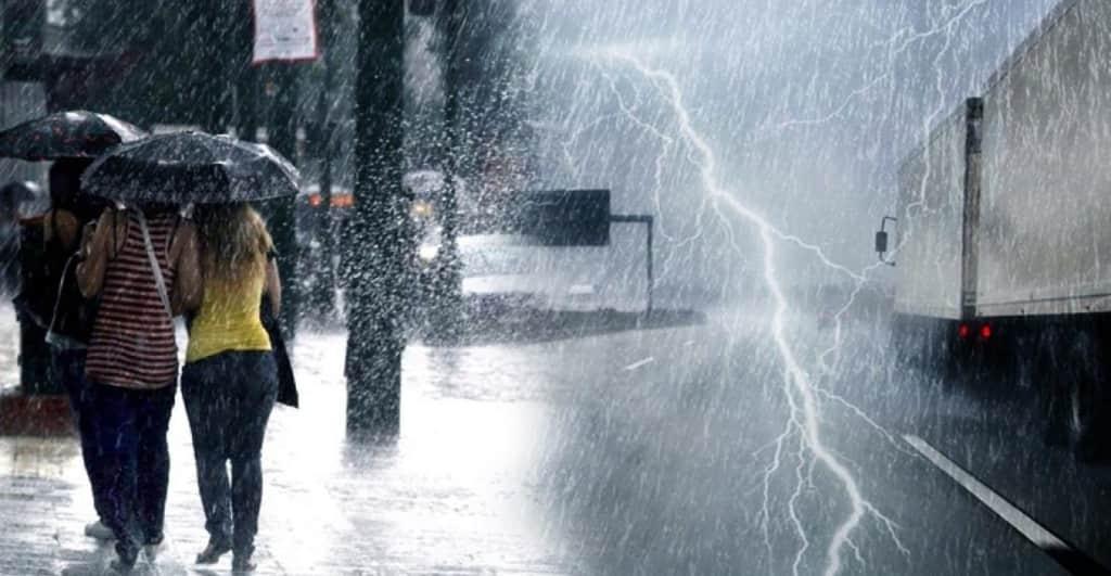 Καιρός σήμερα: Πέφτει η θερμοκρασία με βροχές και καταιγίδες