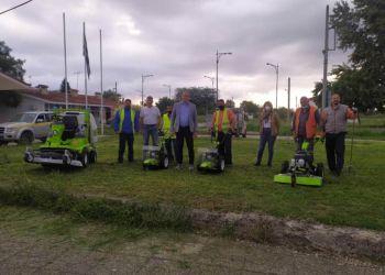 Νέα χορτοκοπτικά μηχανήματα στην Υπηρεσία Πρασίνου