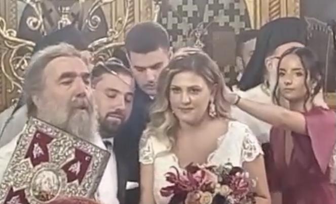 Ο γάμος του Γιάννη Κυριάκου Κοκελίδη με την Παναγιώτα Ευαγγελοπούλου