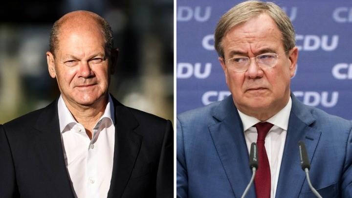 Oι δύο βασικοί υποψήφιοι για την καγκελαρία πραγματοποιούν τις τελευταίες προεκλογικές τους εμφανίσεις
