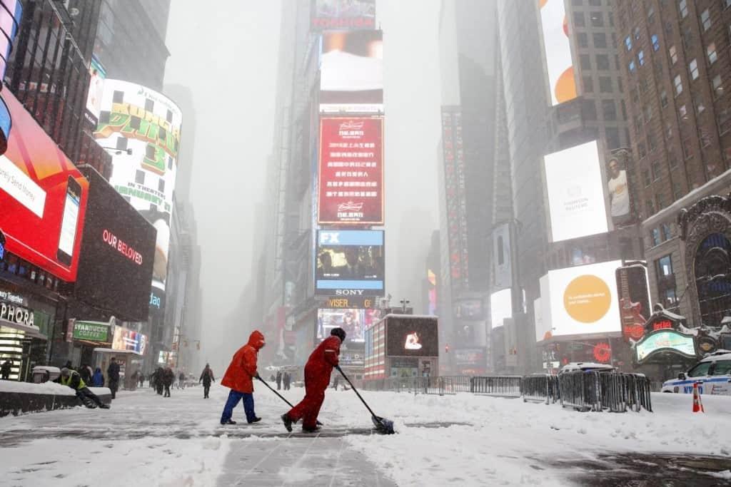 Πώς η παγκόσμια θέρμανση φέρνει βαρυχειμωνιά στη Βόρεια Αμερική