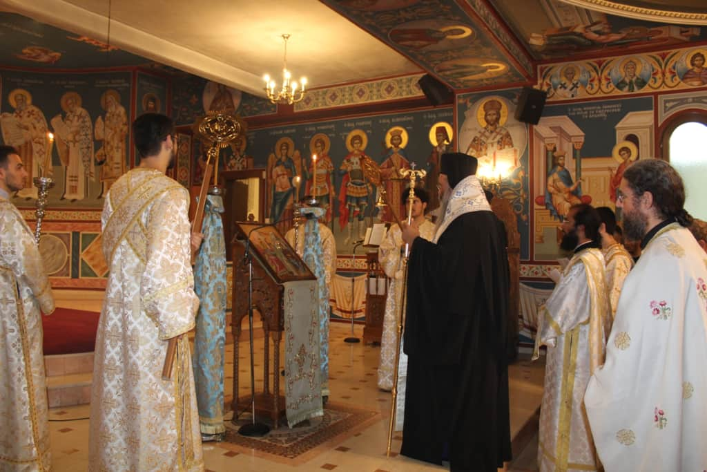 Προσκύνημα Νέων Της Ιεράς Μητροπόλεως Κίτρους, Κατερίνης Και Πλαταμώνος Στην Τήνο
