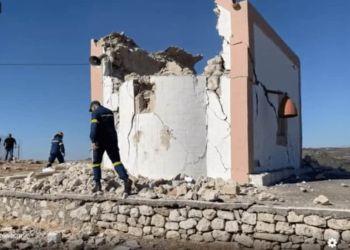 Σεισμός στο Ηράκλειο: Ένας νεκρός και 11 τραυματίες