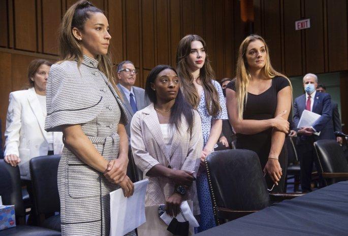 Σιμόν Μπάιλς στη Γερουσία: Το Fbi συγκάλυψε τις σεξουαλικές κακοποιήσεις του Νασάρ