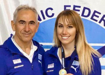 Συμπλήρωσε 20 χρόνια αήττητη και κατέκτησε άλλο ένα χρυσό η Έλενα Χατζηλιάδου