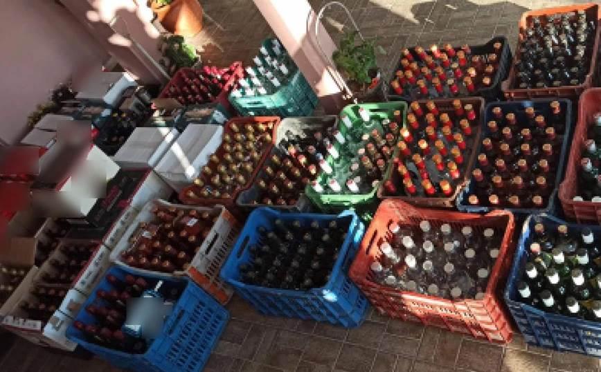 Πιερία: Έφερναν λαθραία ποτά από τη Βουλγαρία και τα «έσπρωχναν» σε μπαρ