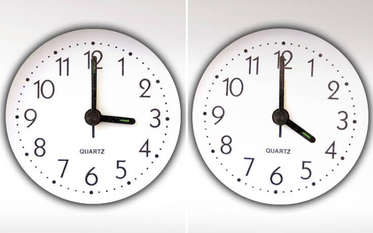 Αλλαγή Ώρας: Κανονικά και φέτος