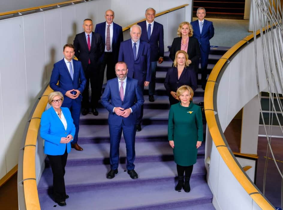 Αντιπρόεδρος του Ευρωπαϊκού Λαϊκού Κόμματος επανεξελέγη ο Βαγγέλης Μεϊμαράκης