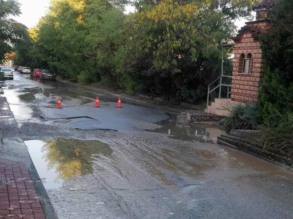 ΔΕΥΑΚ: Χαμηλή πίεση νερού λόγω βλάβης στο δίκτυο ύδρευσης