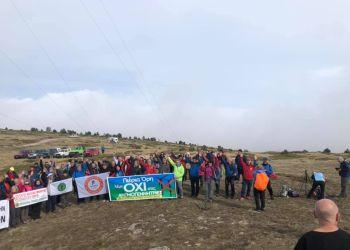 """Διαμαρτυρία για την εγκατάστασης ανεμογεννητριών στα """"Πιέρια"""""""