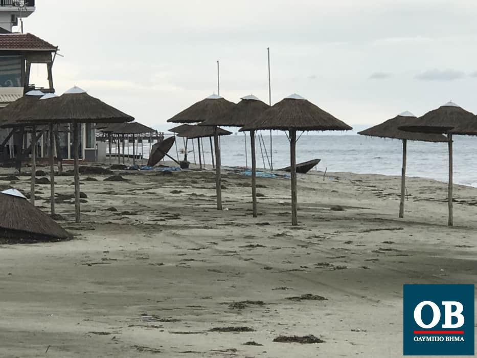 Δήμος Κατερίνης: Άνοιξαν τα κανάλια σε Παραλία και Κατερινόσκαλα