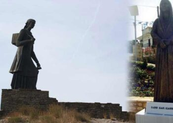 Δυο Γυναικεία Αγάλματα: Ο Πόλεμος Του ΄40