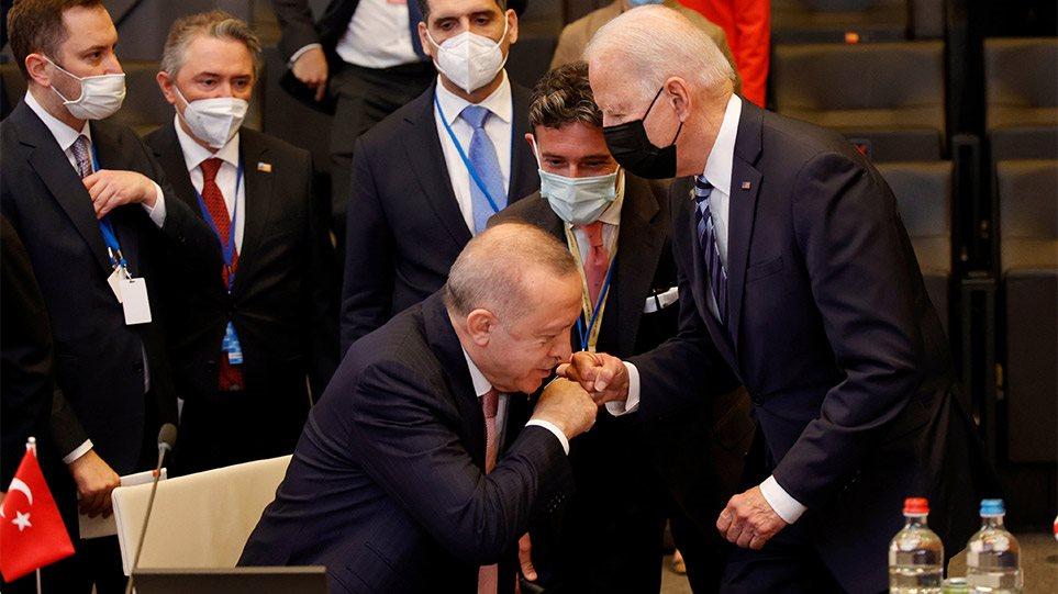 «Επίθεση» Τζο Μπάιντεν σε Ταγίπ Ερντογάν – «Η Τουρκία απειλεί την ειρήνη και την ασφάλεια»