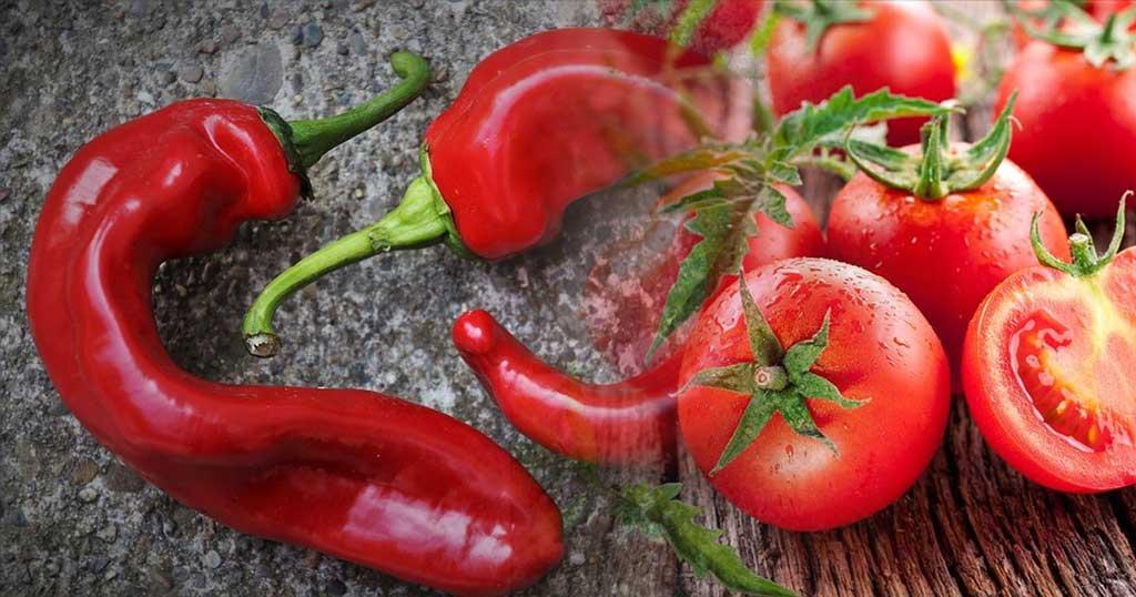 Γέμισαν οι πάγκοι βαφτισμένες «ελληνικές» ντομάτες και πιπεριές Φλώρινας