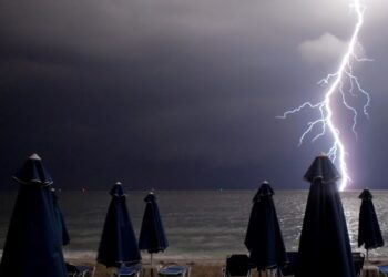 Καιρός σήμερα – Έντονες βροχοπτώσεις και σποραδικές καταιγίδες