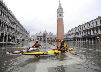 Κλιματική αλλαγή – Βενετία: Επιδεινώνονται τα εκτός εποχής πλημμυρικά φαινόμενα