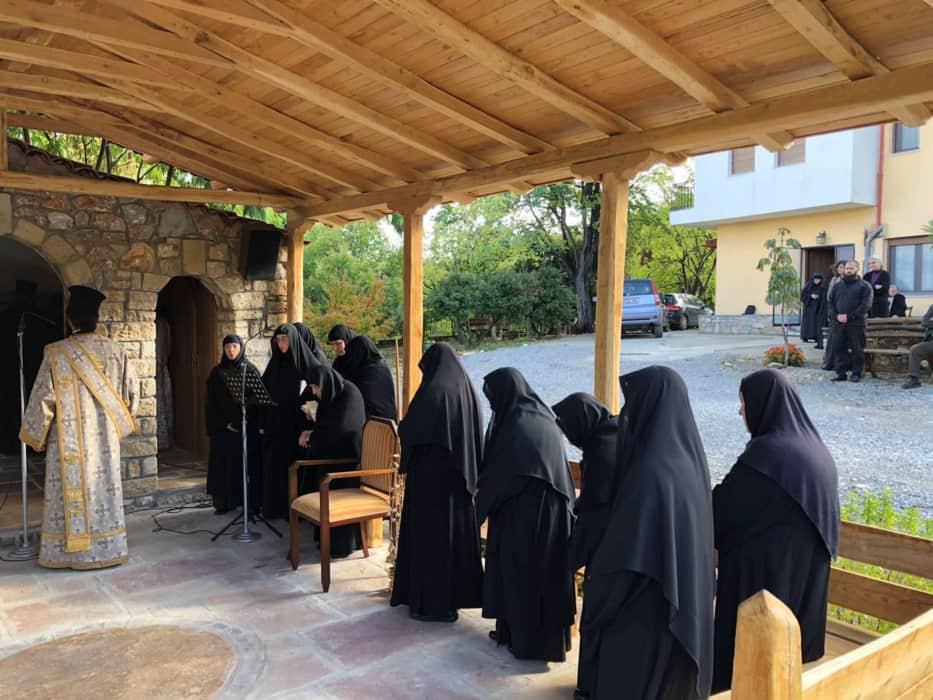 Mεθέορτος εσπερινός του Αγίου Συμεών του Νέου Θεολόγου στη Ρητίνη Πιερίας