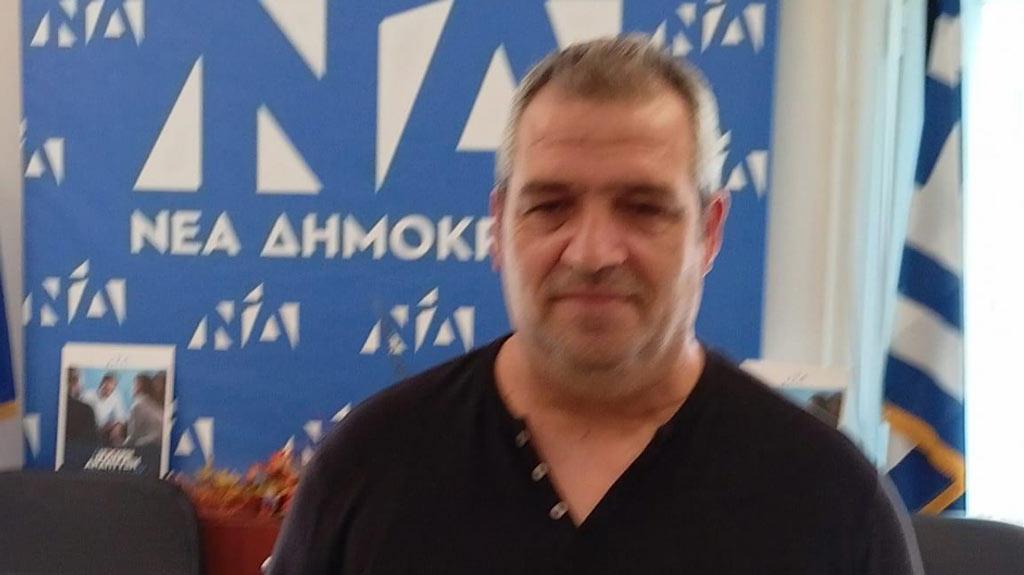 Ο ΧρήστοςΛιάκοςωςμέλος της Δ.Ε.Ε.Ο. Πιερίας(ΝΟΔΕ) στις επερχόμενες εκλογές της 24ης Οκτωβρίου